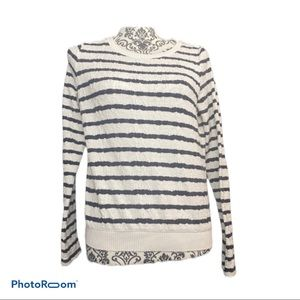 Anthropologie striped sweater
